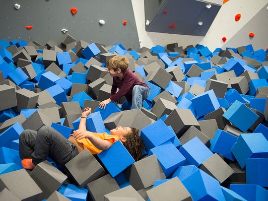 SkyZone in South Asheville has party options for kids who want to jump on trampolines and more.