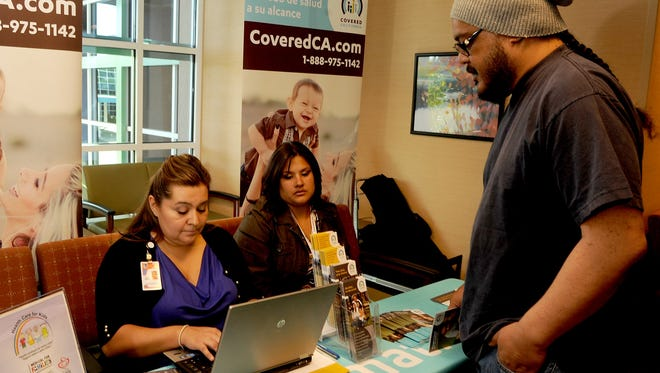 The  deadline for enrolling in Covered California insurance plans is end of Tuesday.