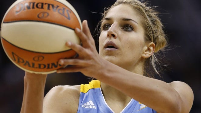 WNBA's Elena Delle Donne is among the judges of the NBA's first All-Star fashion show.
