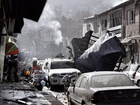 EPA AFGHANISTAN BOMB EXPLOSION WAR CONFLICTS (GENERAL) AFG