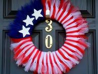 DIY: make a patriotic wreath