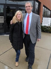 Dog owners Chris and Marilee Barnett were pleased with the judge's sentence.
