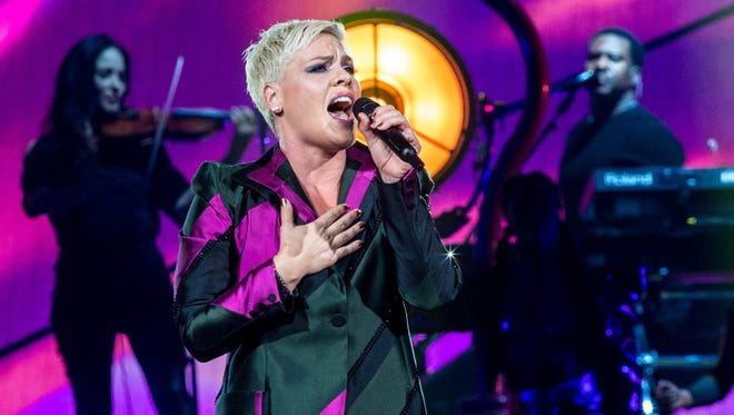 Pink performs Saturday at Bankers Life Fieldhouse.