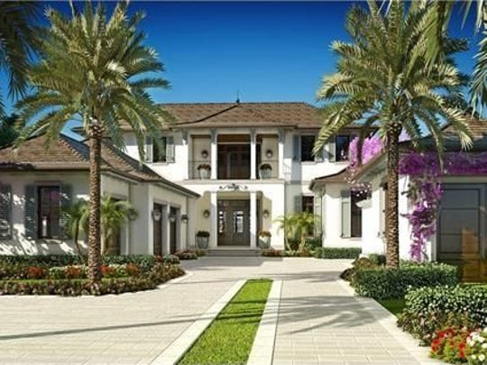 3110 Gin Lane sold for $14,200,000 in 2016, making it one of the top 10 Naples home sales of the year.