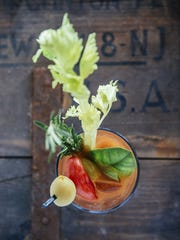 A Bloody Mary from Langosta Lounge in Asbury Park.