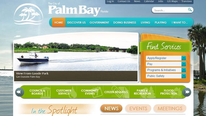 Palm Bay's website is the best in the state when it comes to providing access to public information and municipal services online, according to an adjusted report from the Florida First Amendment Foundation.