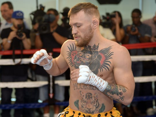 Conor McGregor may not beat Floyd Mayweather on Saturday,