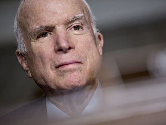What will McCain say about Trump in new book?