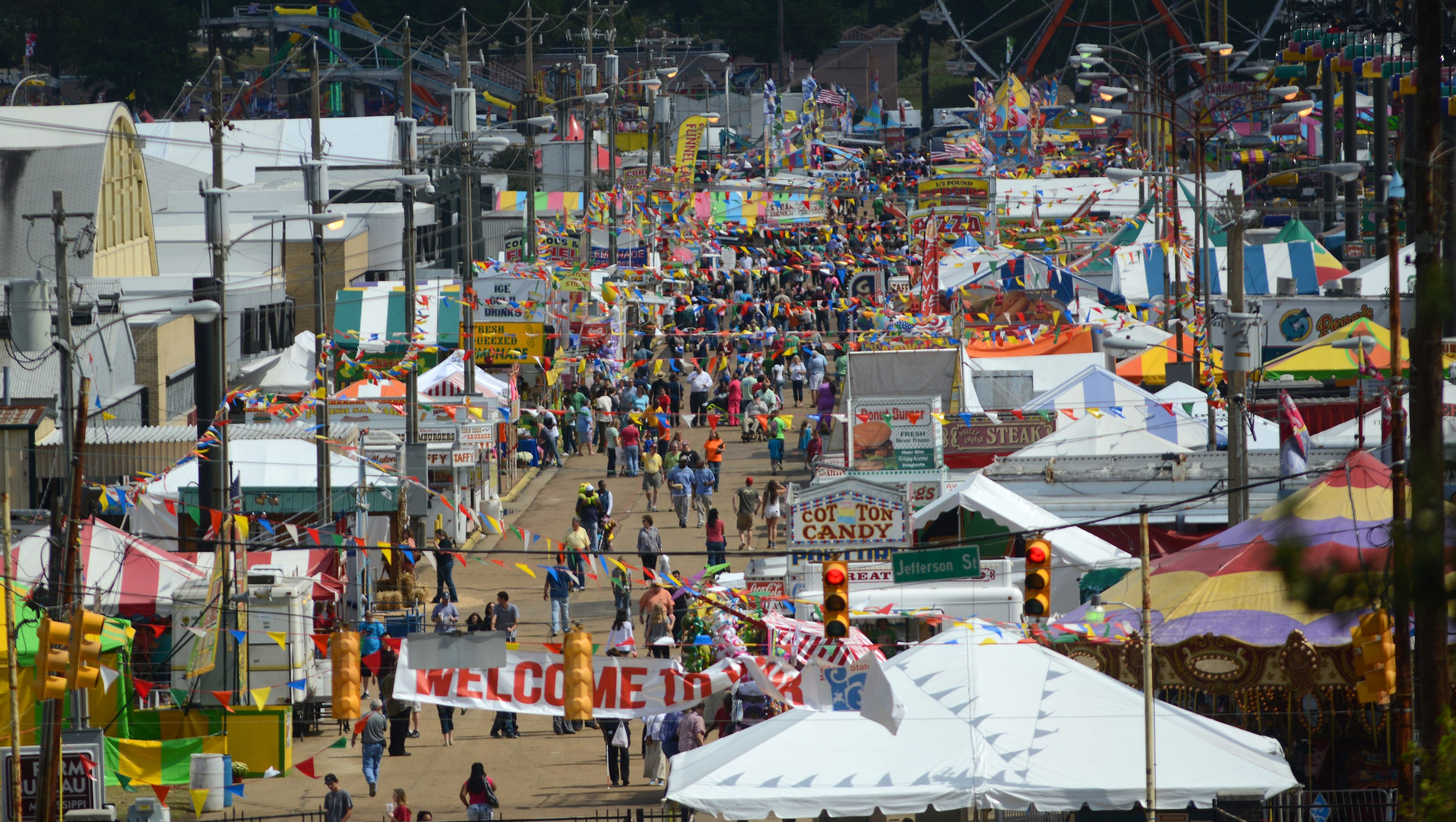 Friday Afternoon At The Mississippi State Fair Gallery