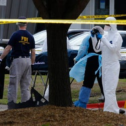 After the attack Sunday in Garland, Texas.