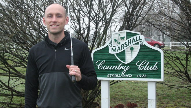 Lakeview grad and former University of Michigan standout Matt Thompson is the new golf pro at Marshall Country Club.