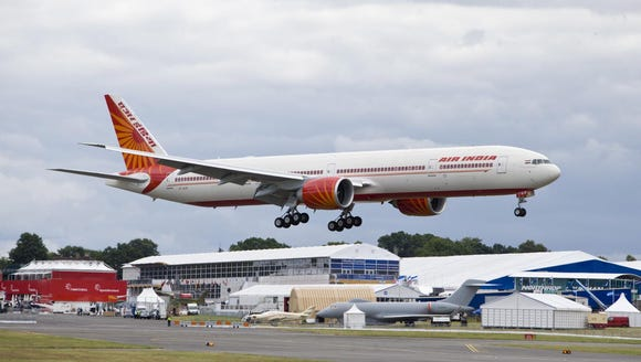 This image provided by Boeing shows an Air India 777-300ER
