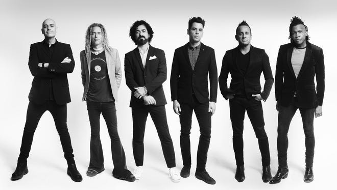 Newsboys filled what then called the Abilene Civic Center in April 2016, the Christian band's last visit to Abilene. The band is, from left, Peter Furler, Phil Joel, Jody Davis, Jeff Frankenstein, Duncan Phillips and Michael Tait.
