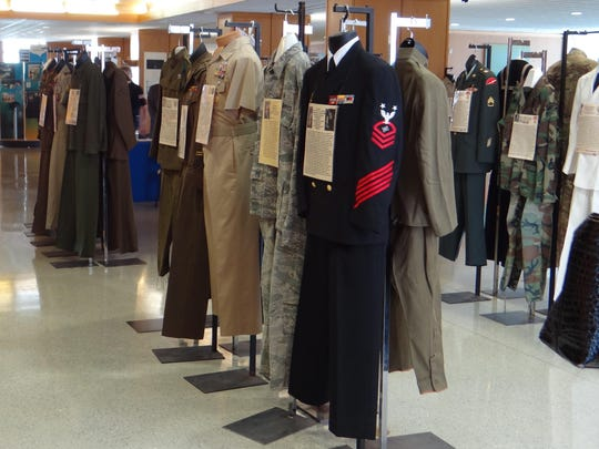 Military Uniforms Exhibit