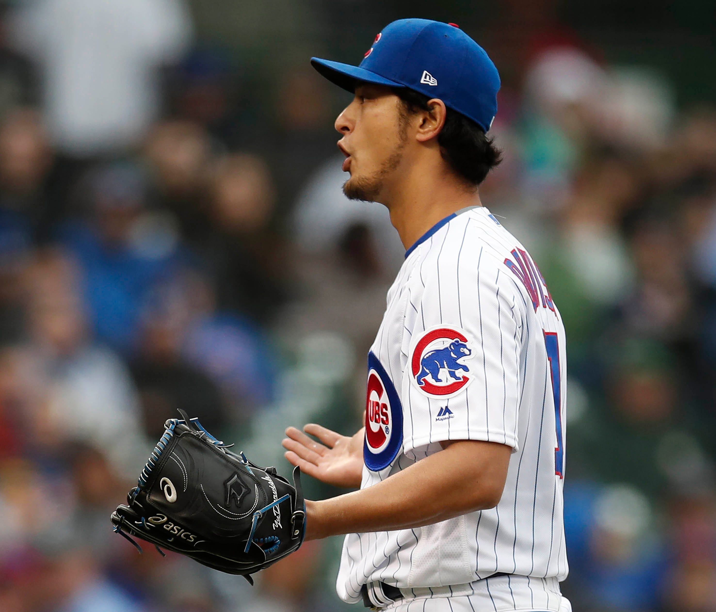 Yu Darvish has a 6.00 ERA through three starts and the Cubs rotation is toting a 5.40 mark.