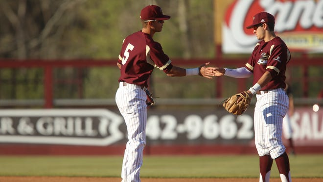 Nathan Reynolds (left) and Anthony Herrera (right) will lead ULM against Appalachian State on Thursday.
