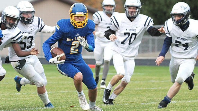 Centreville senior Tyler Swanwick did everything last year on the football field. This year he takes over quarterback duties for the Bulldogs.