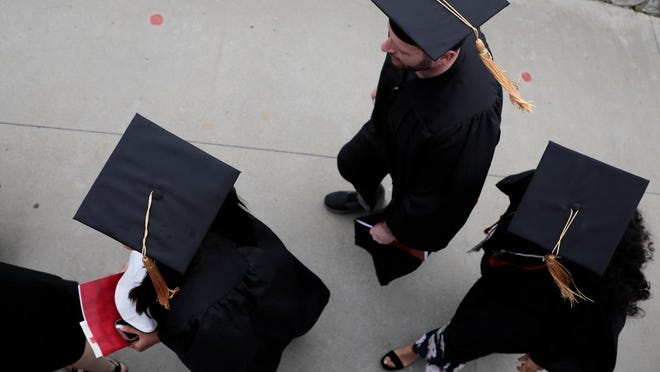 An Ohio lawmaker wants colleges to offer a voucher to students who don't graduate that can be used to finish their education at another college or trade school.