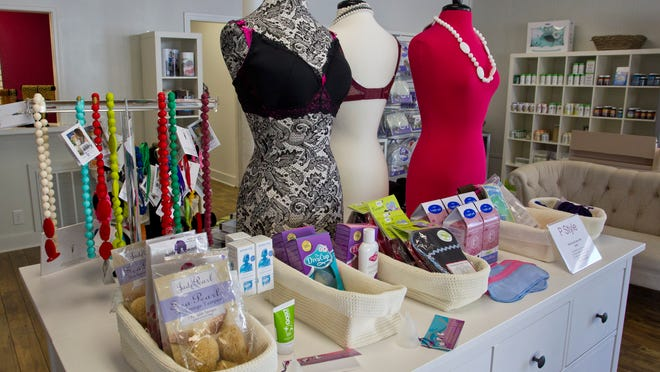The products at Red Raspberry are geared toward women who are interested in home births and/or natural parenting.