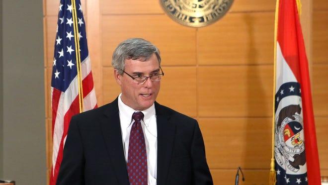 St. Louis County Prosecutor Robert McCulloch.