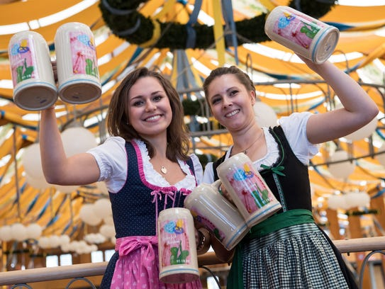 The presentation of the official Wiesn-Masskrug 2016