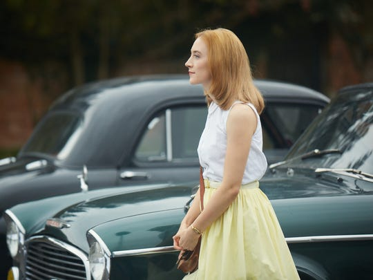 """Florence (Saoirse Ronan) is a bride in 1962 England in """"On Chesil Beach."""""""