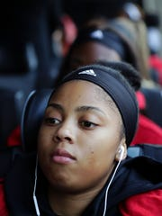 Louisville's Arica Carter and the rest of the Cards