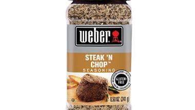 Weber's Steak 'N Chop Seasoning
