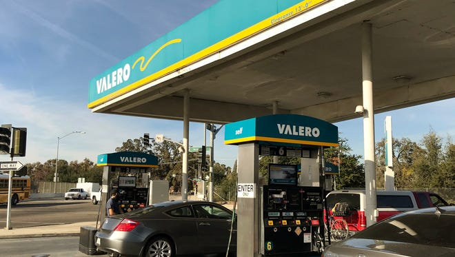 Two men robbed a series of gas stations Tuesday morning including Valero Gas Station at 4445 W. Noble in Visalia.
