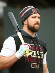 Arizona Diamondbacks outfielder Steven Souza Jr. reports