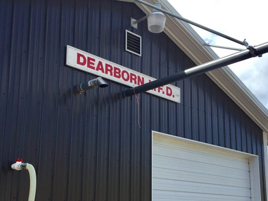County commissioners OK new multi-tiered fee structure for Dearborn Fire Service Area.