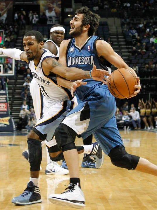 Timberwolves Grizzlies Basketball