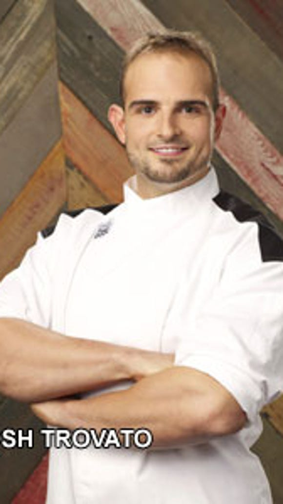 Josh Trovato hopes to go all the way to the black chef's
