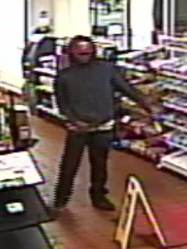 This man allegedly robbed a Shell gas station on Hardy Street in Hattiesburg.