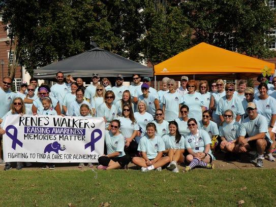 Rene's Walkers-Raising Awareness raised $14,250 to