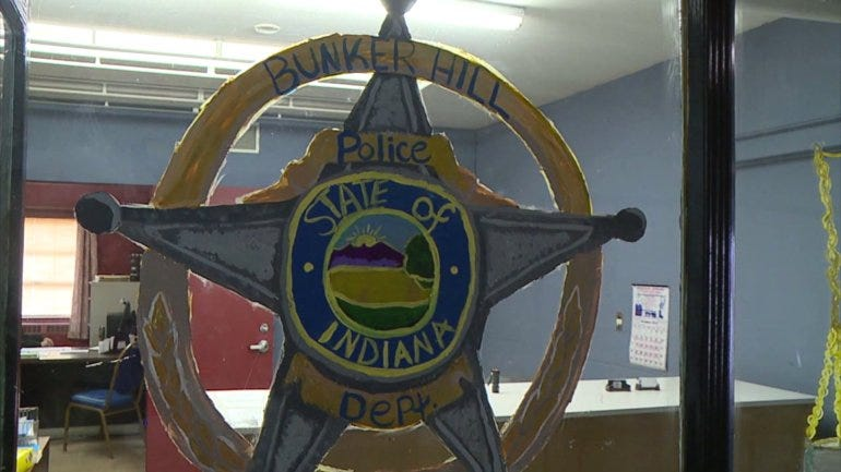 Small Indiana town fires town marshal