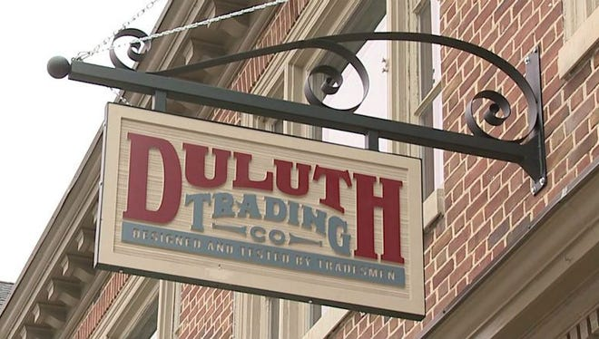 An example of a Duluth Trading Co. store.