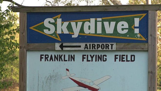 A Martinsville woman was killed on New Year's Day in a skydiving accident south of Franklin Flying Field.