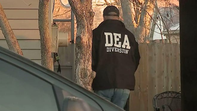 DEA agent in Scottsburg on Friday.