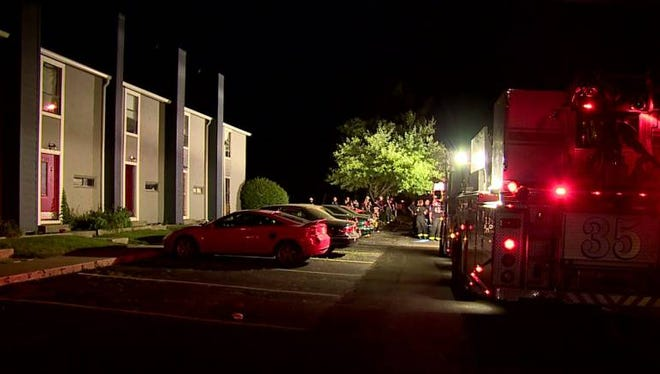 Indianapolis Fire Department officials are investigating after an overnight explosion on the city's south side.