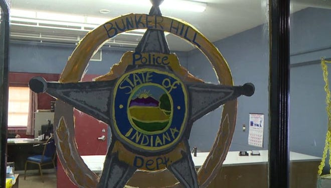 Eight months after its entire police force quit, Bunker Hill, Ind.'s town council approved the hiring of  two unpaid officers.