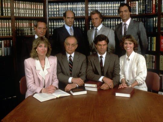 L.A. Law Season One cast shot
