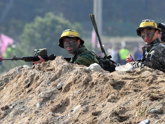 North, South Korea trade fire across sea border