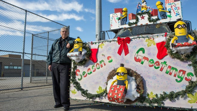 Eastern Correction Institution won the Grand Marshals Award in Sunday's Salisbury Christmas Parade.