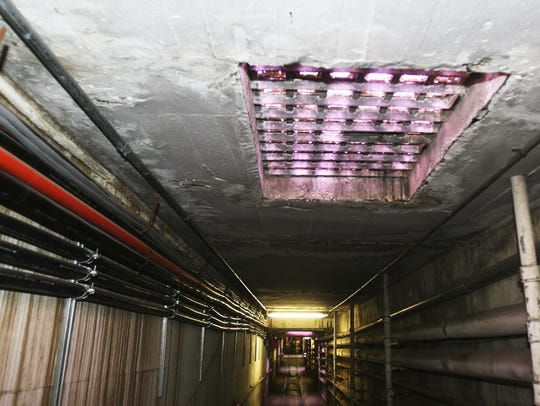 The tunnels under the Oregon State Hospital July 20,