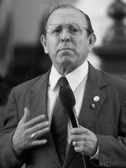 In 1985, state Sen. Carlos Truan of Corpus Christi