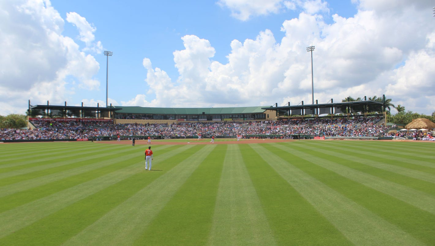 Jupiter\'s Roger Dean Chevrolet Stadium impacts Palm Beach County