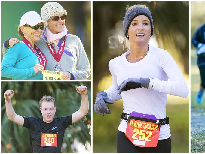 More than 220 runners competed Sunday in the 14th Annual