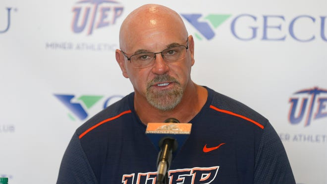 UTEP head coach Sean Kugler address Saturday night's loss to ODU and quickly went on to talk about his teams upcoming home game against Houston Baptist in the Sun Bowl.