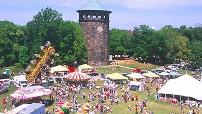 Wilmington Flower Market Air view